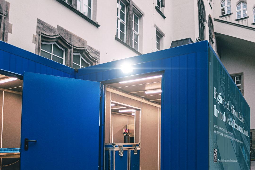 Spülcenter Chemnitz Spülstation Außenbereich